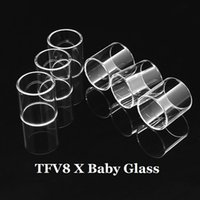 TFV8 X Baby Tank Glass Tube Pyrex Replacement Glass Sleeve T...