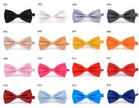 Бесплатная доставка мужская галстук свадьба черный красный фиолетовый галстуки женские галстуки дети мальчик галстуки-бабочки мода аксессуары