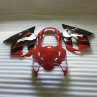 أطقم حقن صب fairings لهوندا 2000 2000 CBR600 F4 أحمر أسود ما بعد البيع هيئة هدية مجموعة CBR 600 F4 99 00