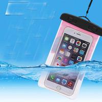 تطرق الدليل العالمي للمياه للحصول على حالة فون الهاتف الخليوي جاف حقيبة مضادة للماء الهاتف حقيبة اليد للتسلق سباحة