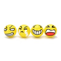 12 Anti Stress Smiley Face Reliever Ball Autism Mood Squeeze...