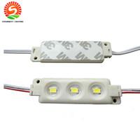 Arka Işık LED Modülleri Enjeksiyon ABS Plastik 1.5 W RGB LED Modülleri Su Geçirmez IP65 3LEDS 5050 5630 LED Vitrin Işık