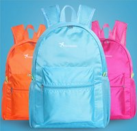 5pcs 2017 New Backpack Style Women Men Nylon Wateriproof Tra...