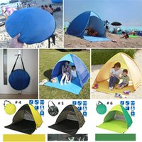 Summer Beach Tents Quick Automatic Opening 50+ UV Protection...