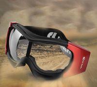 Anti - brouillard de vent et de poussière de poussière éponge de protection équitation moto moto pare-brise protection du travail meulage anti-choc lunettes
