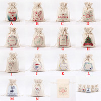 Christmas Gift Bags Large Organic Heavy Canvas Bag Santa Sac...