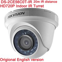DHL fast Hikvision Original English Version DS- 2CE56C0T- IR H...