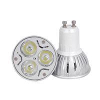 X100 spedizione gratuita ad alta potenza ha condotto la lampada GU10 E27 B22 MR16 GU5.3 E14 3W 85 ~ 265 V / 220 V / 110 V ha condotto la luce spot Spotlight dimmerabile ha condotto la lampadina da incasso