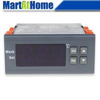 -30 ~ 300 deg c wh7016d الالكترونية الرقمية ترموستات تحكم درجة الحرارة 220 فولت، 110 فولت، 12 فولت، 24 فولت