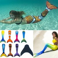 cosplay adult girl bathing suit color tails for children ari...