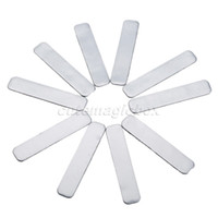 Wholesale- 10Pcs Adhesive Lead Tape Strips Add Power Weight To GOLF CLUB Tennis Racket Iron Putter RACQUETS Golf Accessaries Training Aids