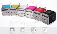 Новый Bluetwo TD-V26 мини-динамик портативный цифровой ЖК-звук Micro SD / TF FM-радио музыка Стерео динамик для ноутбука мобильный телефон MP3
