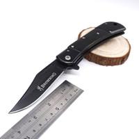 Browning Couteau Pliant Rapide Ouvert Couteau De Poche 3cr13 Lame De Palissandre Poignée En Plein Air Camping Couteau Tactique Survie Couteaux Outils EDC