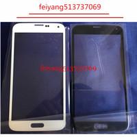 Uno schermo LCD da qualità anteriore tocco esterno obiettivo di vetro per Samsung i9600 GalaxyS5 G900 G900F