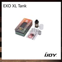 IJoy EXO XL Sub ohm Tanque 5ml Top Llenador Regulador de flujo de aire ajustable Atomizador 26mm Diámetro 100% Original