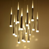 Modern LED Pendant Lamps Iron Metal Light Fixtures Fashion B...