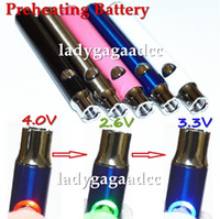 2017 HOT!!! High- quality variable voltage Preheating Battery...
