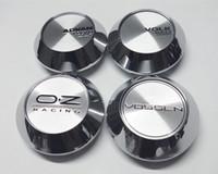 شحن مجاني 68MM / 65mm والفضة / قبعات سوداء بتصميم Enkei قياس يمضي VS لاصق عجل مركز العمل XXR G شعار عجلة غطاء المحور كاب CAR STYLING