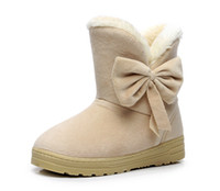 Women Boots Arrival Women Winter Warm Snow Boots Fashion Pla...