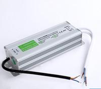 Transformateurs 100W DC 12V 24V 36V imperméables LED d'alimentation led driver pour extérieur led éclairage adaptateur entrée en CA 110V ~ 130V 170V ~ 220V