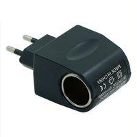 US/EU AC/DC EE4104 110V-220V AC to 12V DC EU Car Power Adapter Converter Household Car Cigarette Lighter Socket Power Charger hot selling