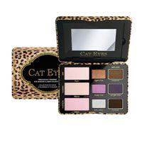 Yeni Şeker Pop Göz Farı Yanak Paleti tamamen Sevimli ve Kedi Gözler 3 Stil Gölge Paleti Allık Yüz Kozmuntik Makyaj Perakende Kutusunda