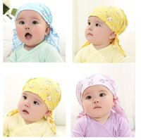 Wholesale Siriusha05 thin section scarf hat 2- 12 months four...