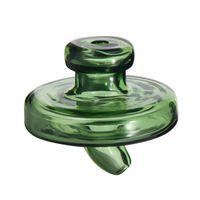 Tapa de carb. OVNI de vidrio de color universal Sombrero estilo cúpula para brazaletes de cuarzo Uñas tubos de agua de vidrio, plataformas de aceite dab al por menor
