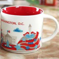 14 oz kapasite seramik washington dc şehir starbucks şehir kupa Amerikan şehirleri en iyi kahve kupa