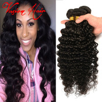 4Bundles Deep Wave Brazilian Human Hair Bundles Best Quality...