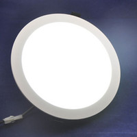20 unids Ultra Brillante 3 W 4 W 6 W 9 W 12 W 15 W 25 W Led Downlight Empotrado en el Techo Panel Redondo AC85-265V Panel Led Lámpara de la Bombilla de luz