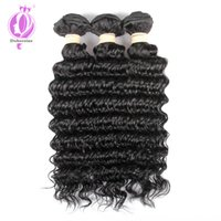 best selling Indian Deep Wave Hair Extensions 100% Human Hai...