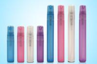 Fabrika Fiyat -5ml 10 ml Plastik Mat Sprey Şişesi, Mist Atomizer Meme ile Boş Kozmetik Parfüm Konteyner, Parfüm Örnek Flakon