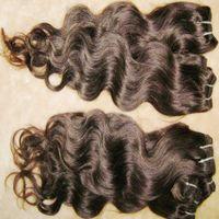 11ピース/ロットグレート品質処理ブラジル人間体波髪の波状テクスチャ1b安い髪織り速い船積み