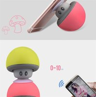 Cartoon Mushroom Bluetooth Speaker Car Speakers with Sucker ...