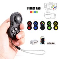 Hot Funny Toy Fidget PAD Cube Fidget Spinner Anti Stress Hand Puzzles Magic Pad Jouets à main Jouets Contrôleurs de jeu Magic Pad Enfants Adultes