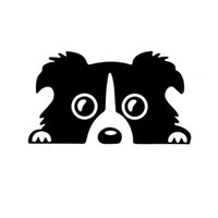 8CM*14CM Car Styling Dog Pattern Reflective Car Sticker Wate...