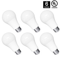 LED A19 Light Bulbs Pack of 6 10W Led Globe Lamp Bulb Energy...