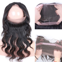 22. 5*4*2 inch 360 Lace Frontal Closure Body Wave 8A Grade Br...