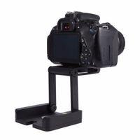Freeshipping Fotocamera professionale Treppiede Z Pan Tilt Alluminio Pieghevole Z Treppiede BRACKET Testa Soluzione Studio fotografico