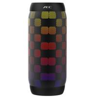 Sin hilos impermeable AEC LED Altavoces portátiles Bluetooth BQ615 Pro estupendo sin hilos de la tarjeta del TF del altavoz de graves Mini luces que destellan FM para iPhone