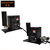 Envío gratis 2 unids / lote Máquina de un solo tubo CO2 Effect Effect Etapa Iluminación CO2 Efecto de tiro DMX512 Columna Equipo de jet 110V / 220V TP-T27