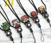 Telefon Boyun Askısı Halka İpi Için çıkarılabilir İpi kahraman serisi Asılı Takılar Güvenlik Rozet Zinciri Cep Telefonu MP3 Flash Sürücüler Için