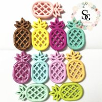 (2017 new)Lot of 20 - mixed colors pineapple teether Pendant...