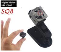 SQ8 Mini Kamera 1080 P 720 P HD Kamera 12 M Kızılötesi Gece görüş Mikro Kamera Hareket Sensörü Mini DV DVR Kamera Küçük Webcam