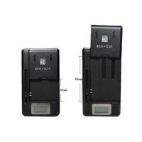 Evrensel Akıllı LCD Göstergesi pil Şarj samsung GALAXY S4 I9500 S3 I9300 NOT 3 S5 usb çıkışı ile şarj ABD, AB AU FİŞ