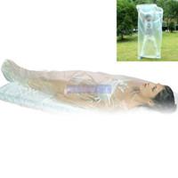 ورقة من البلاستيك للالتفاف الجسم 120 * 220CM / للاستخدام مع بطانية ساونا للحفاظ على بشرة بعيدا عن مباشرة مع بطانية ساونا