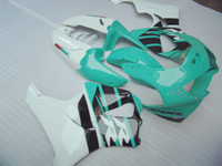 Hot Sale Fairing Kit för Honda CBR919RR 98 99 Green White Fairings Set CBR 900RR 1998 1999 OT21
