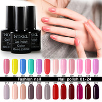 Vente en gros- MDSKL 132 Couleurs UV Gel Vernis à ongles 10ML beauté Soak-off Nail Glitter UV Gel Vernis Nail Art Manicure Vernis à LED