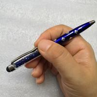 Universal 2 em 1 multifuncional Neve Cristal Elements tela de toque capacitivo 500pcs Stylus Pen